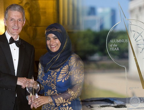 Shabina Begum is Alumnus of the Year 2016