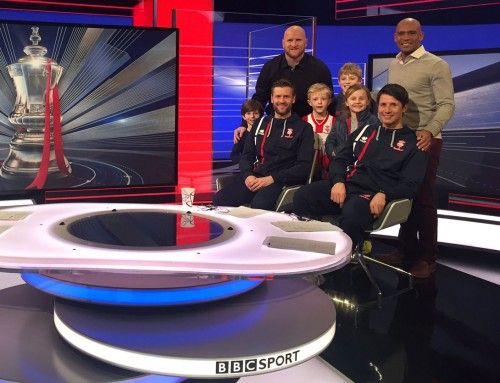 Greenwich pair make FA Cup history – and Match of the Day!