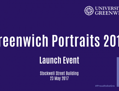 Greenwich Portraits 2017 – Launch Event