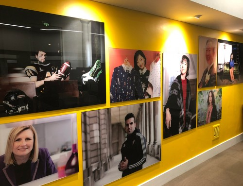 Launch of new exhibition celebrates alumni community at Medway