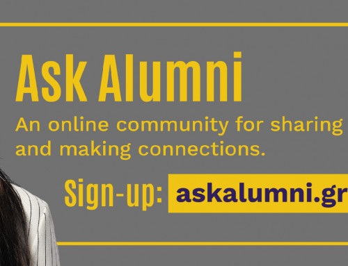 Ask Alumni, a new online community for Greenwich graduates, has now launched!
